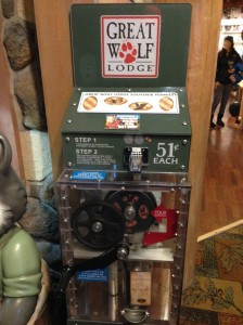Great Wolf Lodge Machine