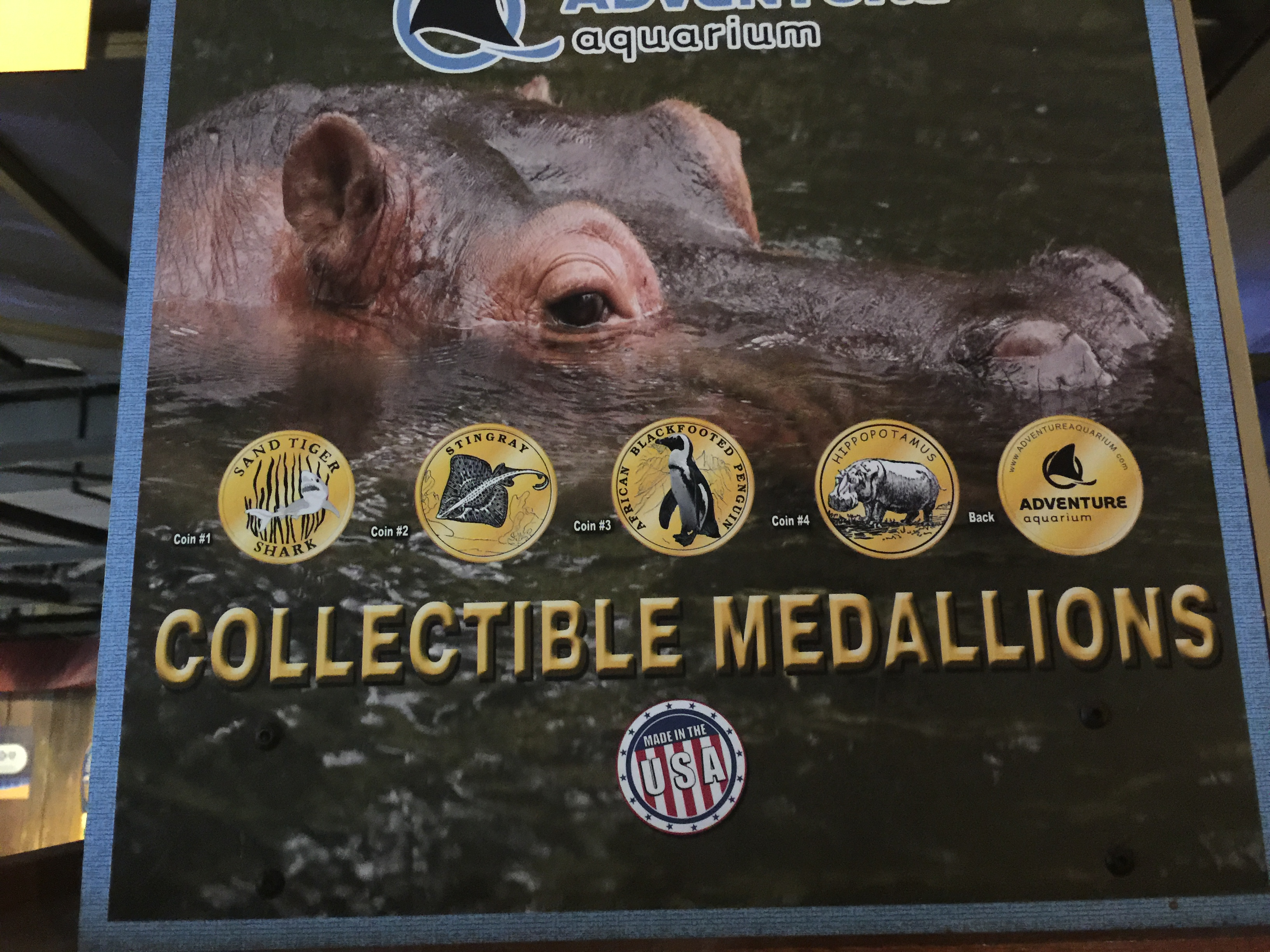 Adventure Aquarium – Camden, NJ | David's Coin Travels