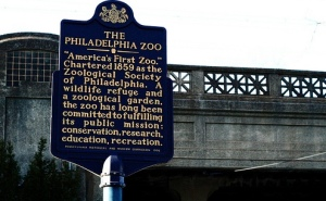 philly zoo sign