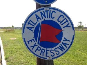 AC Expressway Sign