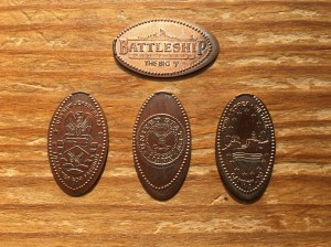 USS New Jersey Pennies