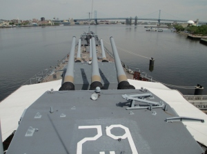 uss nj view from bridge