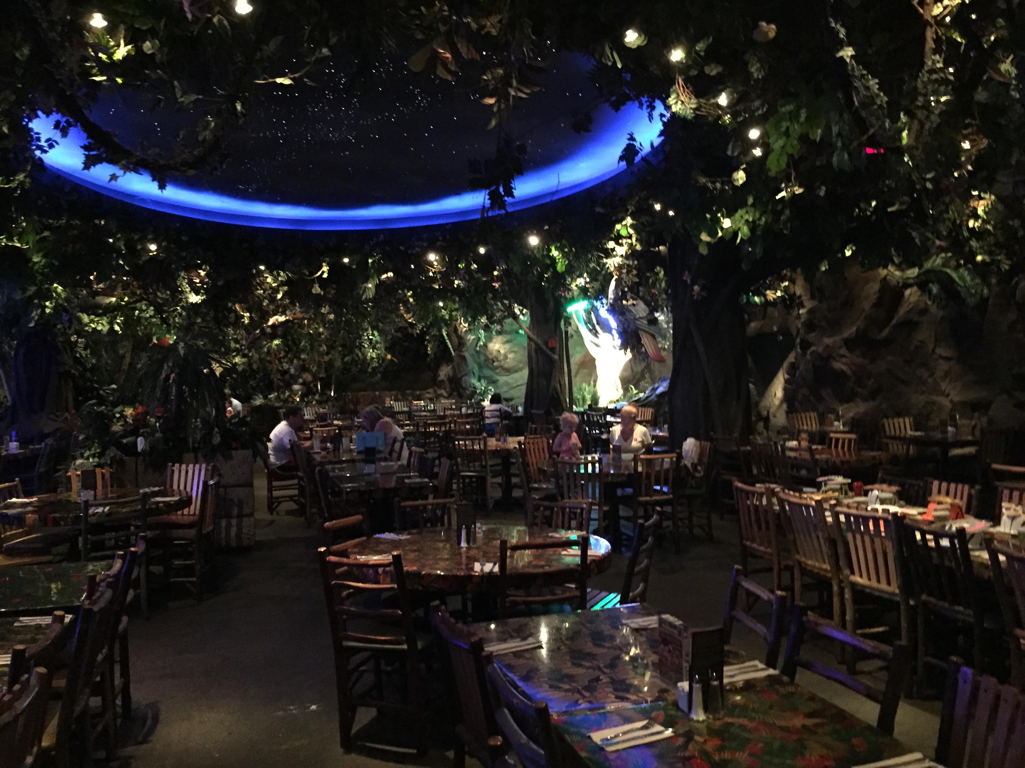 Rainforest Cafe Edison Menlo Park Mall