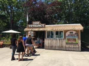Cape May Zoo Entrance