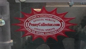PennyCollector Sticker