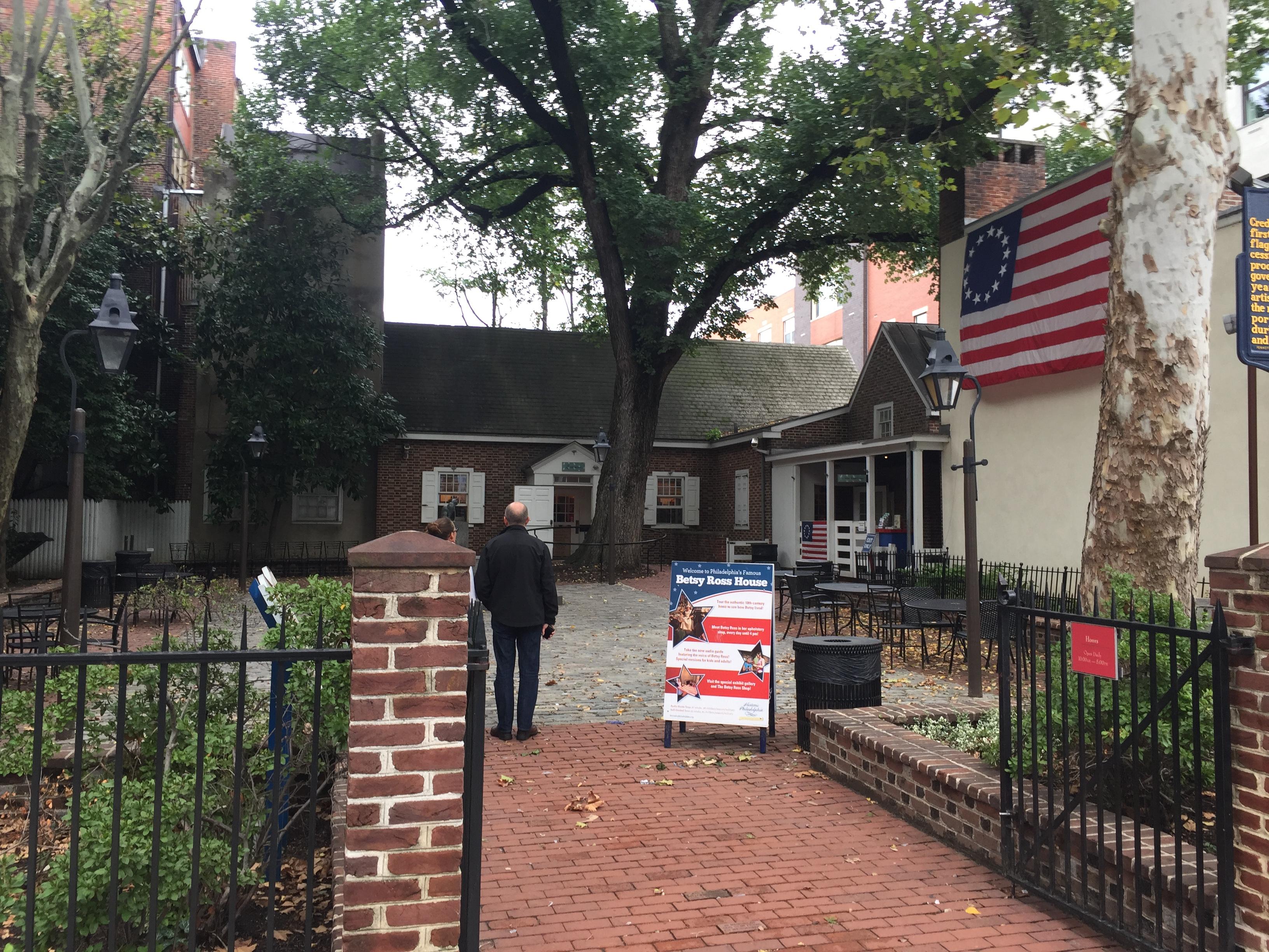 Betsy Ross House – Philadelphia, PA | David's Coin Travels