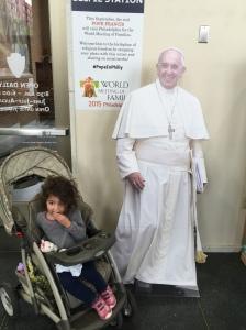 Hanna & Pope Francis