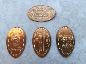 Ripley's Believe It NYC Pennies