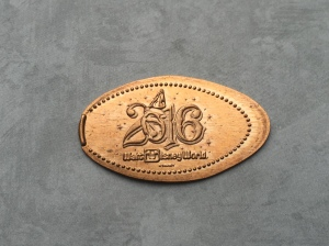 2016 Hollywood Studios Penny