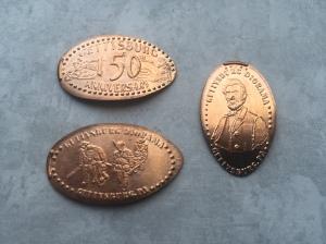 PA - Gettysburg Diorama Pennies