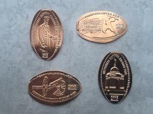 PA - Gettysburg Military Park Pennies 01