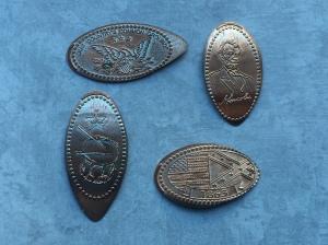PA - Gettysburg Military Park Pennies 02