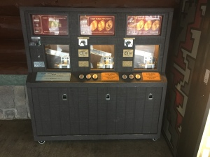 RST - Wilderness Lodge Resort Bus Stop Machines