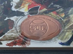Baseball 2016 Booklet Coin