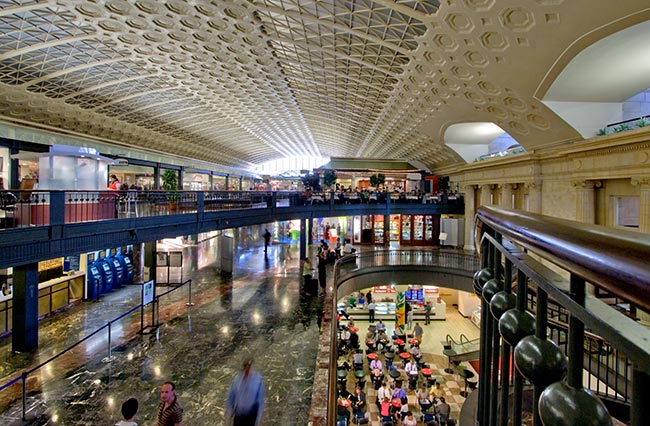 Shopping Mall Near Me Now >> Union Station – Washington, DC | David's Coin Travels