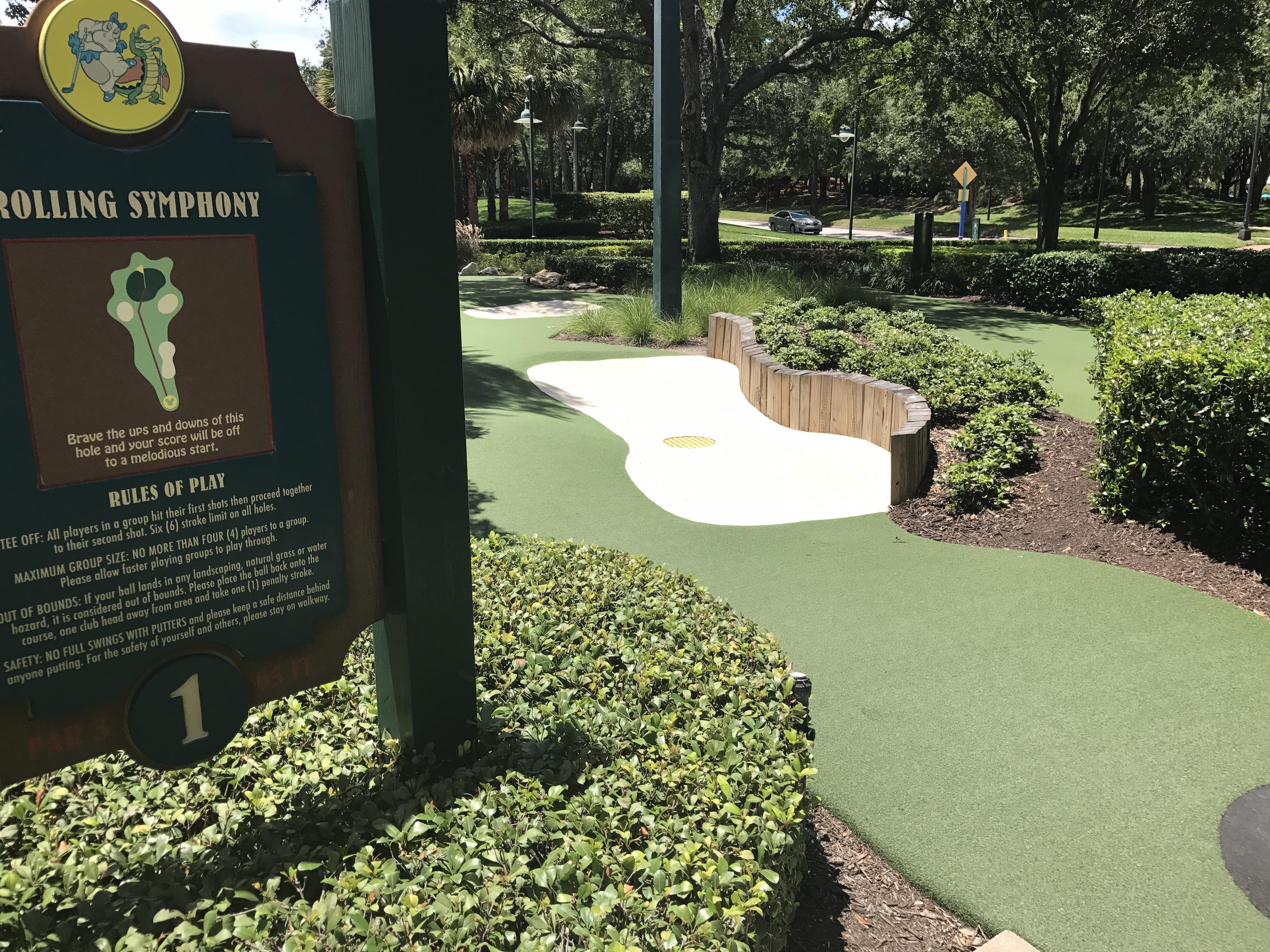 Fantasia Gardens Mini Golf Wdw Florida David 39 S Coin Travels